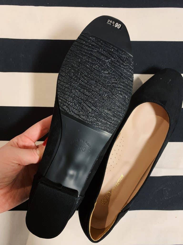 Reo Collection Black Suede Flats Review