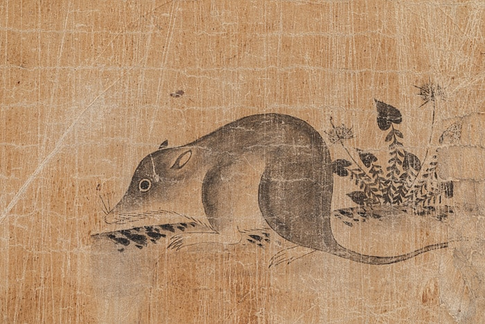Rat Exhbition at Onyang Folk Museum in Seoul. One of many art exhibitions in Seoul, Korea during the month of February 2020.