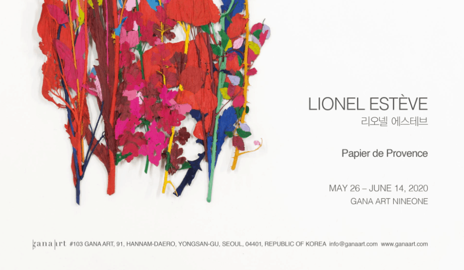 Lionel Esteve, Art Exhibition in Seoul, Korea