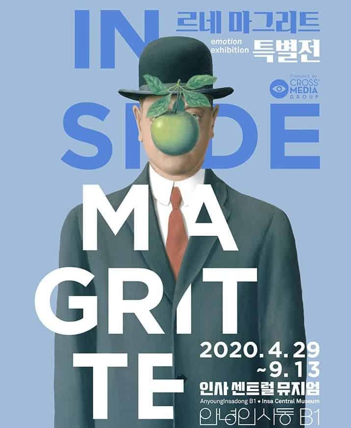 Inside Magritte (Rene Magritte), Art Exhibition in Seoul, Korea