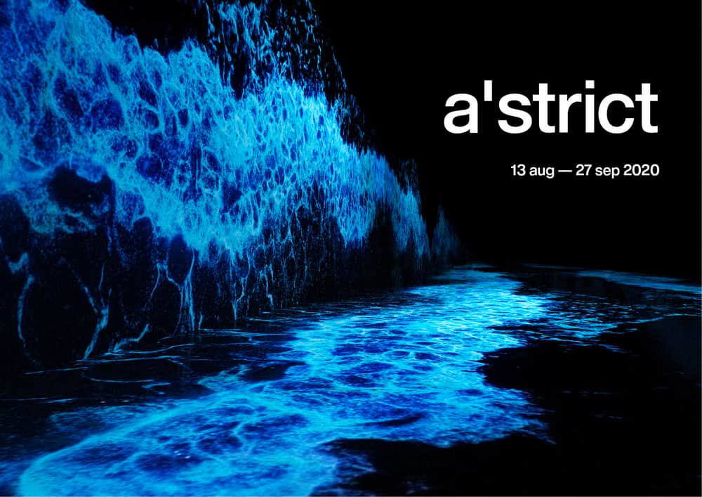a'strict wave exhibition at kukje gallery, seoul