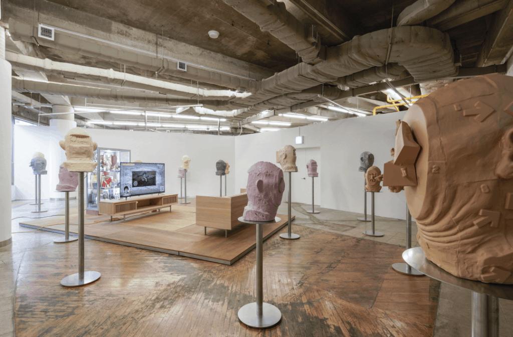 Don Sunpil solo exhibition, Portrait First, at Art Sonje Center in Seoul, South Korea