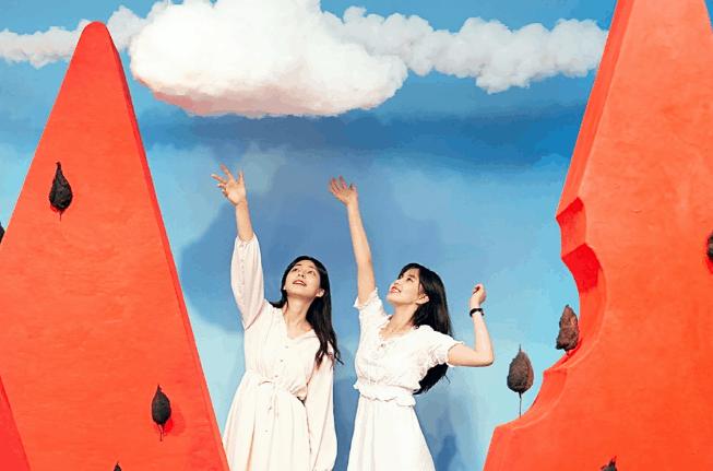Fun, interactive art museum exhibition in Seoul, South Korea